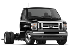 2022 Ford 4 50 E Series D R W in Agate Black